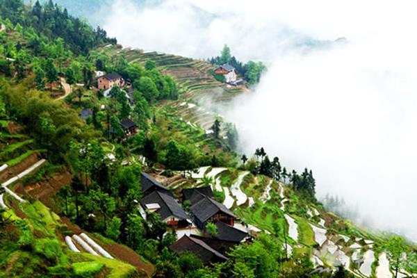 湖南大山风景图片