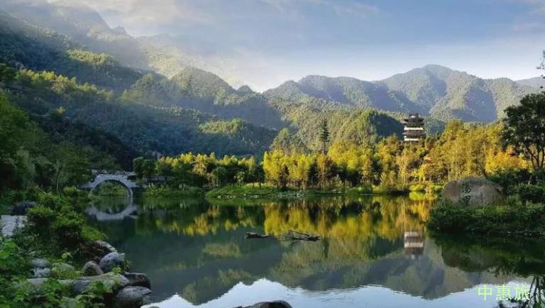 首届江西森林旅游节,汤里文旅康养度假区,沉浸式体验,尖尾峡森林漂流